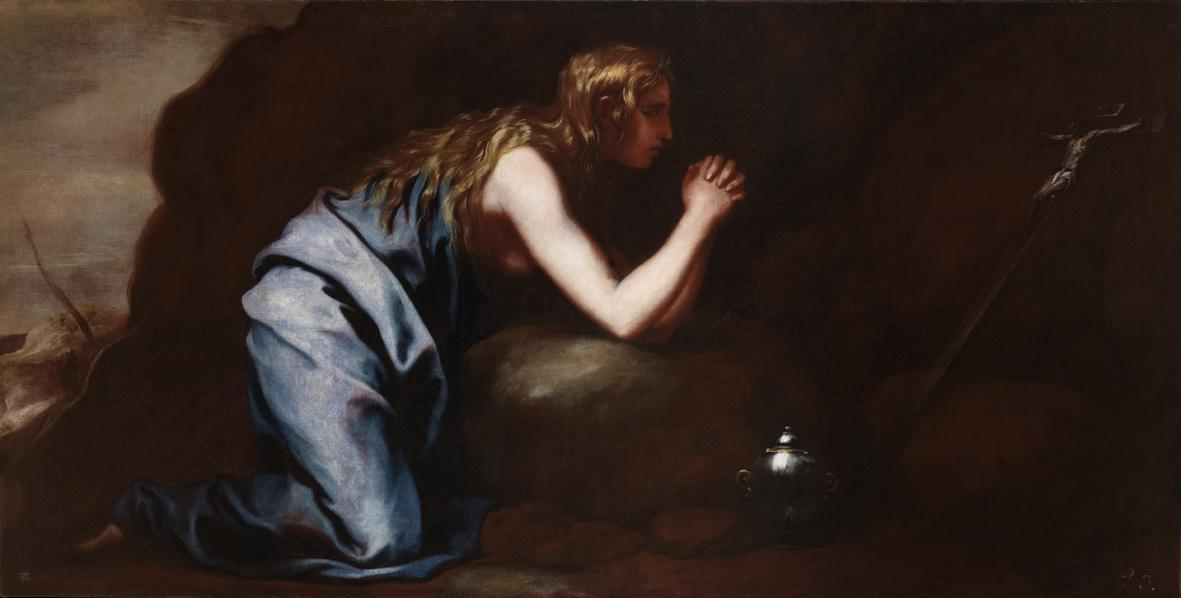 """""""María Magdalena en el desierto"""""""
