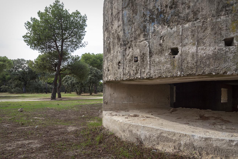 Imagen del fortín en La Dehesa de Navalcarbón en Las Rozas