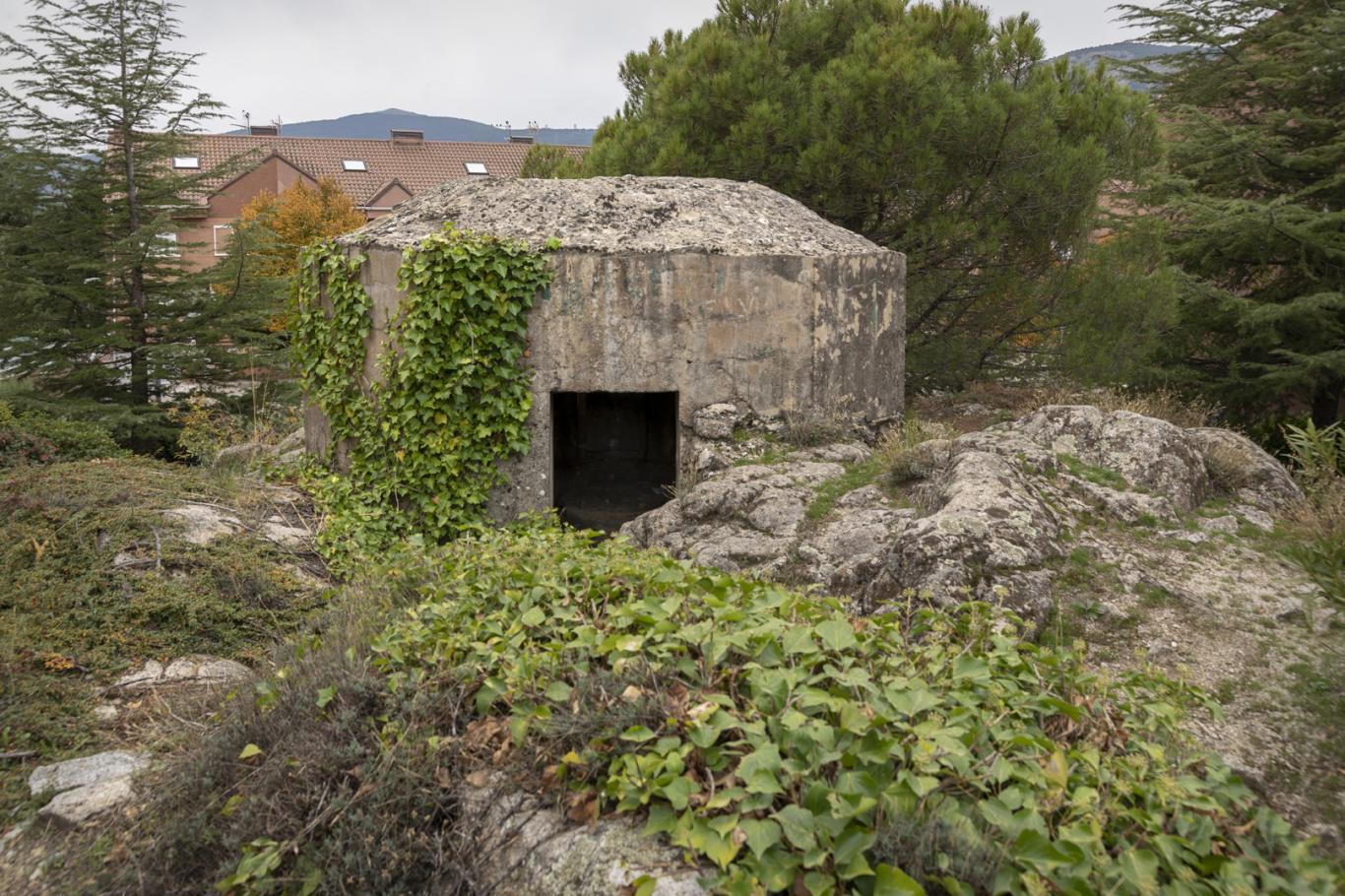 Imagen del fortín en Los Molinos
