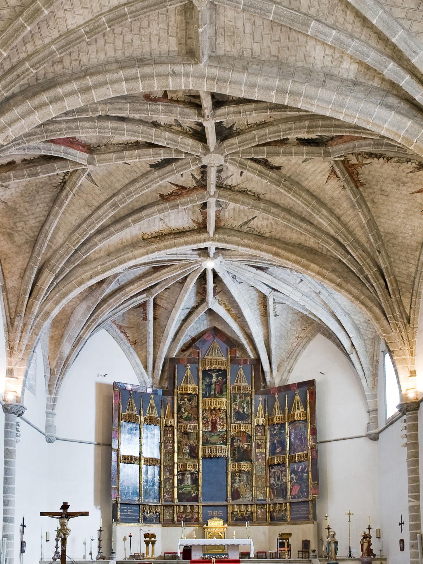 La iglesia parroquial de la Asunción de Nuestra Señora de Robledo de Chavela