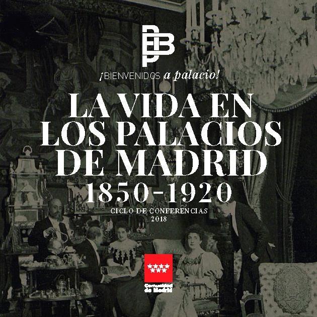 Imagen de la portada del Programa Conferencias Bienvenidos a Palacio 2018