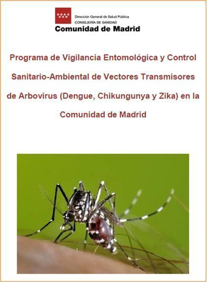 Imagen de la portada del Programa de vigilancia y control de vectores transmisores de arbovirus