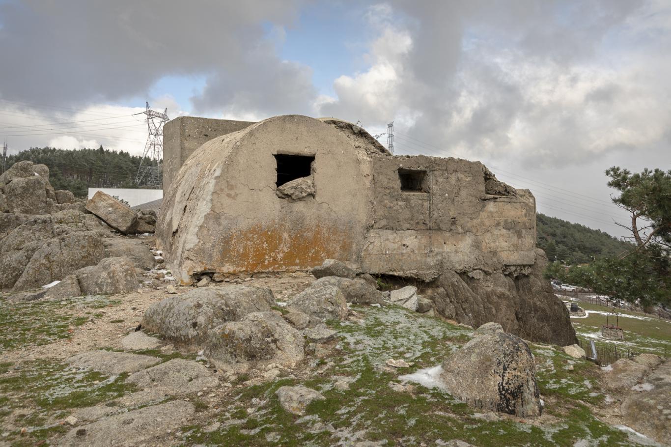 Imagen de fortín de la Guerra Civil en el Puerto de León