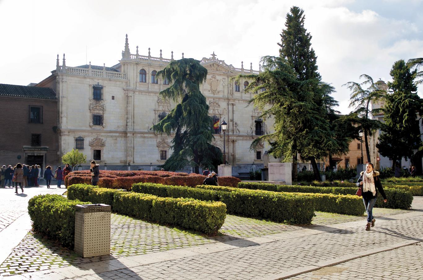 Imagen de la Universidad de Alcalá de Henares en la actualidad