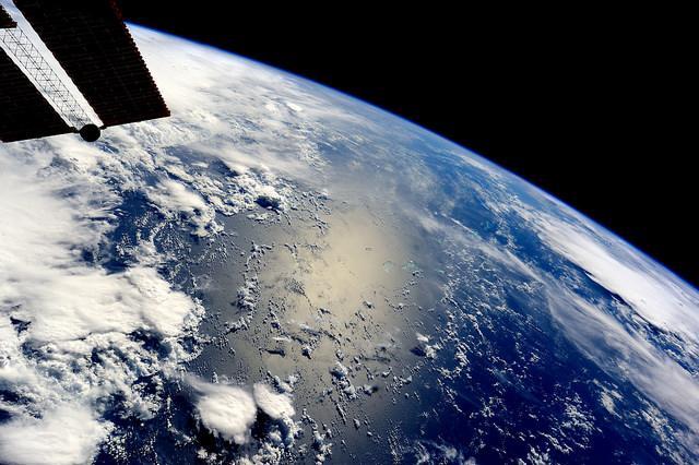 Vista de la Tierra desde la Cúpula de la ISS