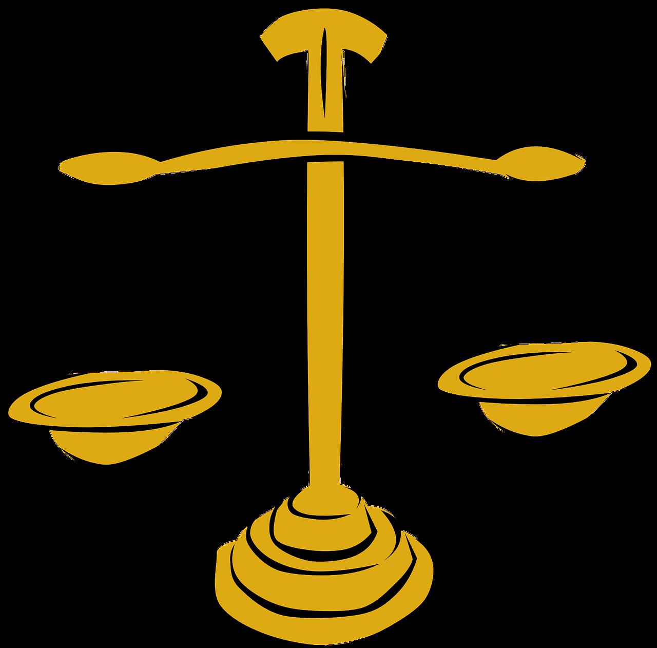 Imagen de una balanza