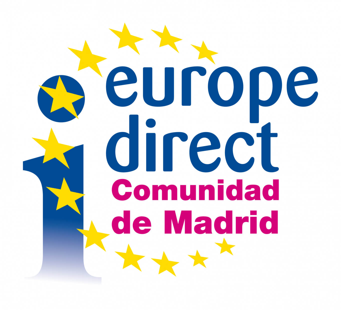 logo del Europe Direct Comunidad de Madrid