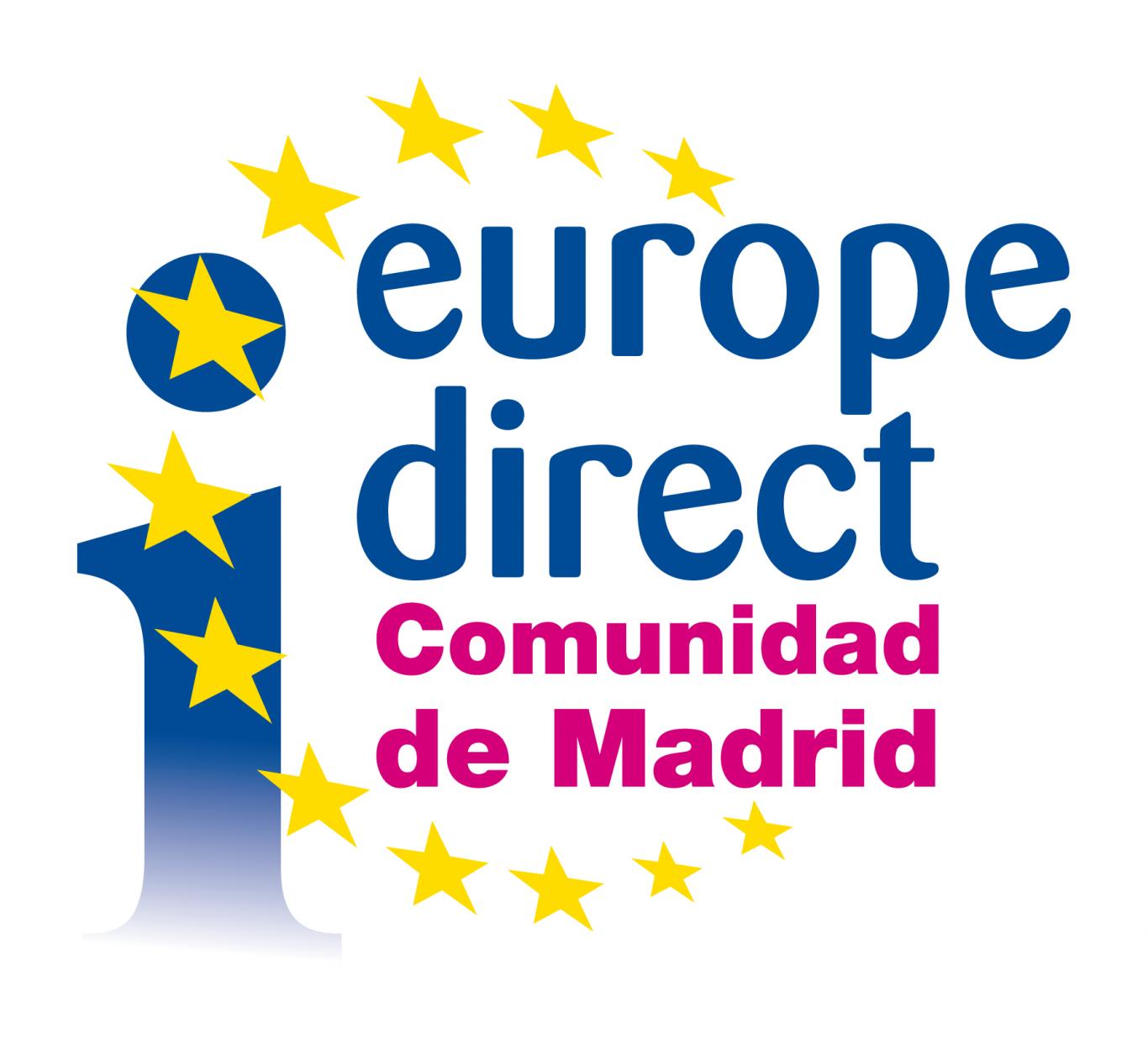 logo del Europe Direct Comunidad de Madrid