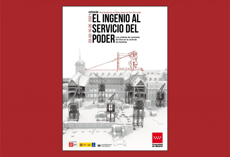 Imagen del cartel exposición El ingenio al servicio del poder