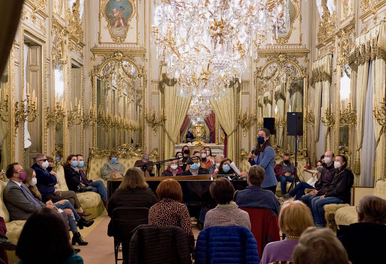 Foto 1 del concierto en el Palacio de Fernán Núñez