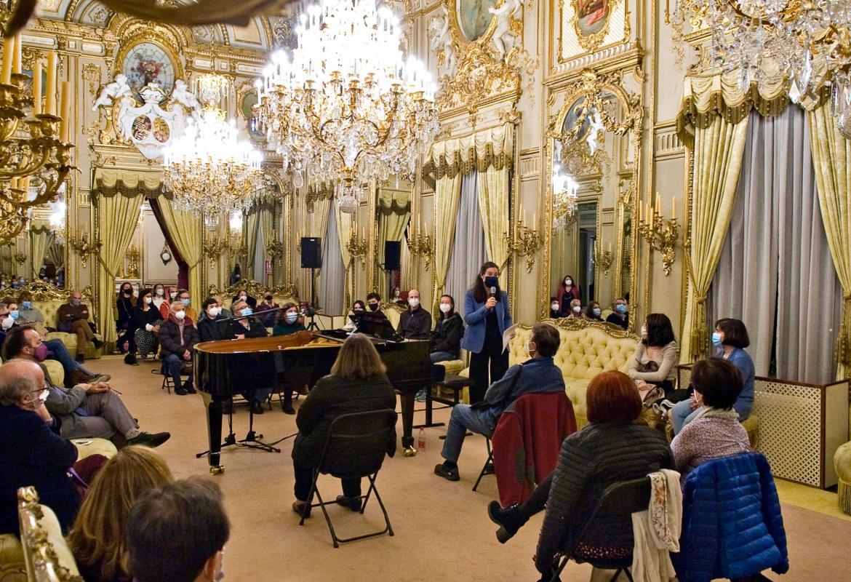 Foto 2 del concierto en el Palacio de Fernán Núñez