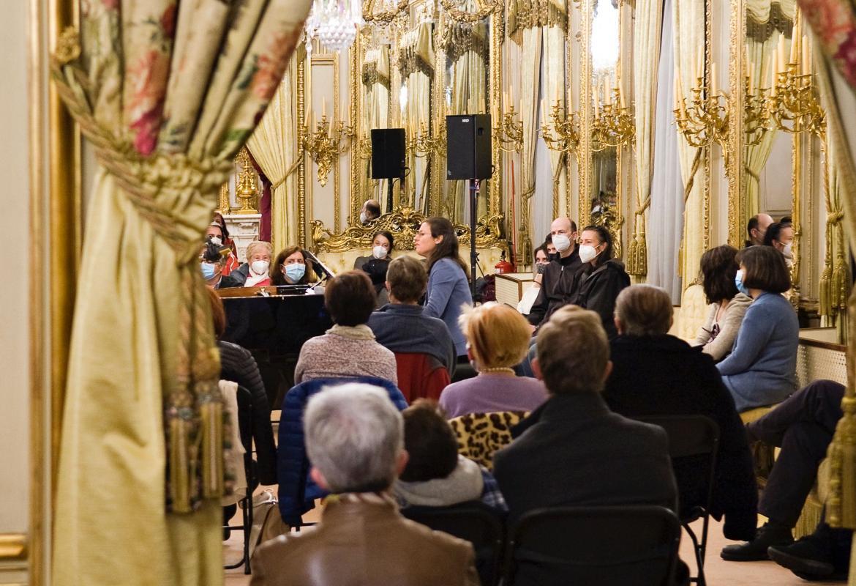 Foto 3 del concierto en el Palacio de Fernán Núñez