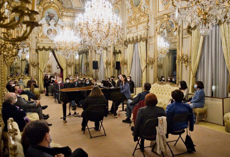 Foto 6 del concierto en el Palacio de Fernán Núñez