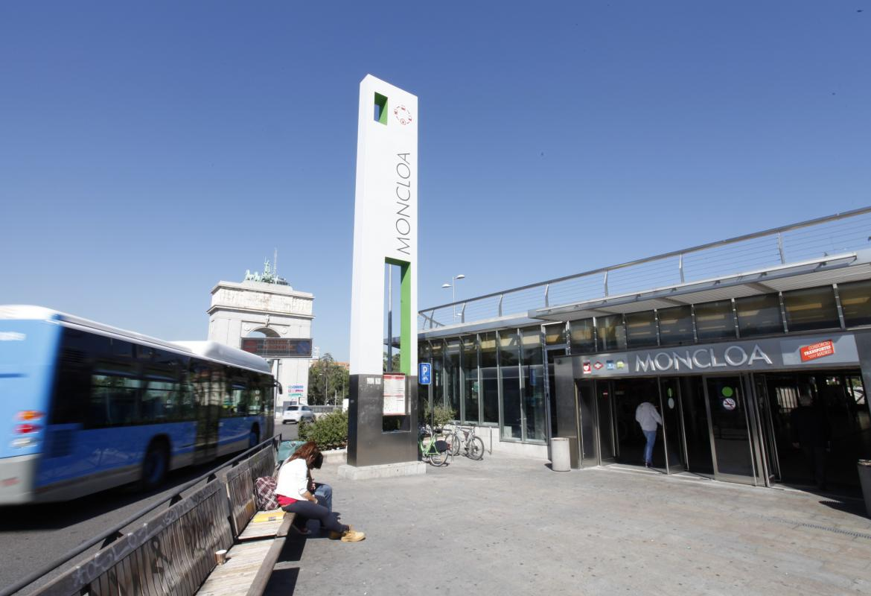 Consorcio de Transportes de Madrid. Intercambiador de Moncloa