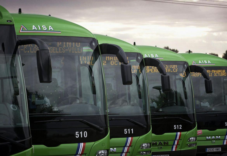 Consorcio de Transportes de Madrid. Autobuses interurbanos