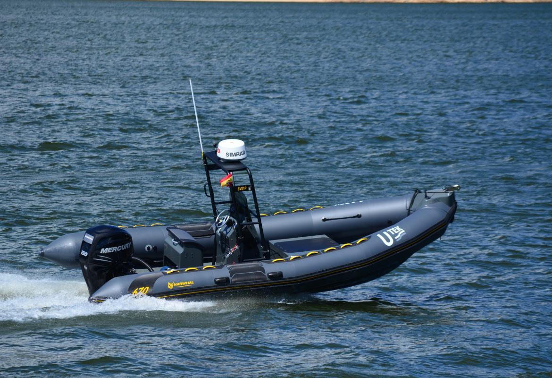 Barco autónomo Utek: sistemas navales no tripulados