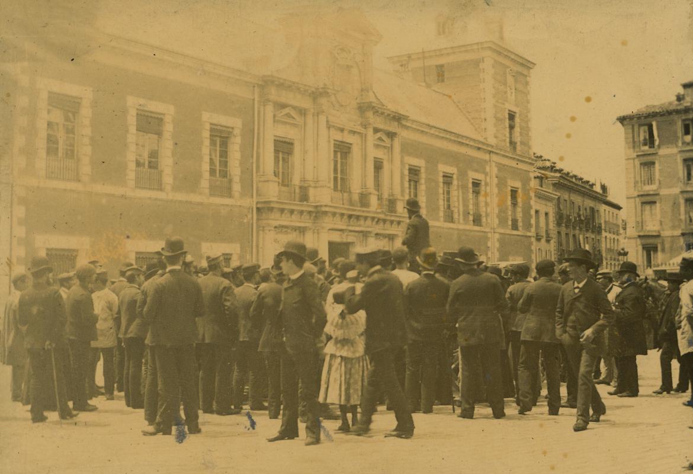 Vista del Palacio de Santa Cruz
