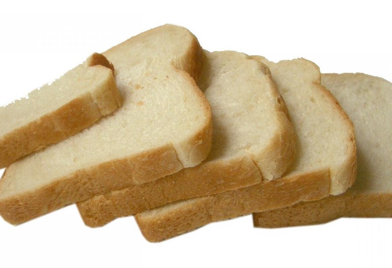 Pan de molde en rebanadas
