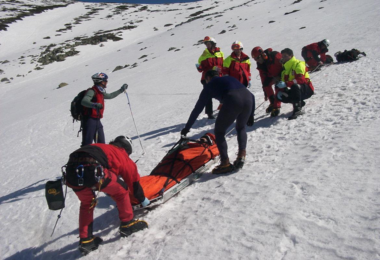 rescatado nieve
