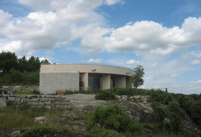 Edificio del Centro de Educación ambiental El Águila