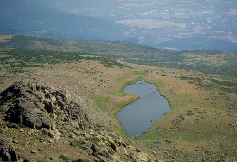 Imagen de la Laguna de los Pájaros, en Rascafría