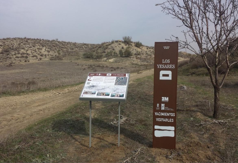 Conjunto de fortificaciones de Los Yesares, Pinto