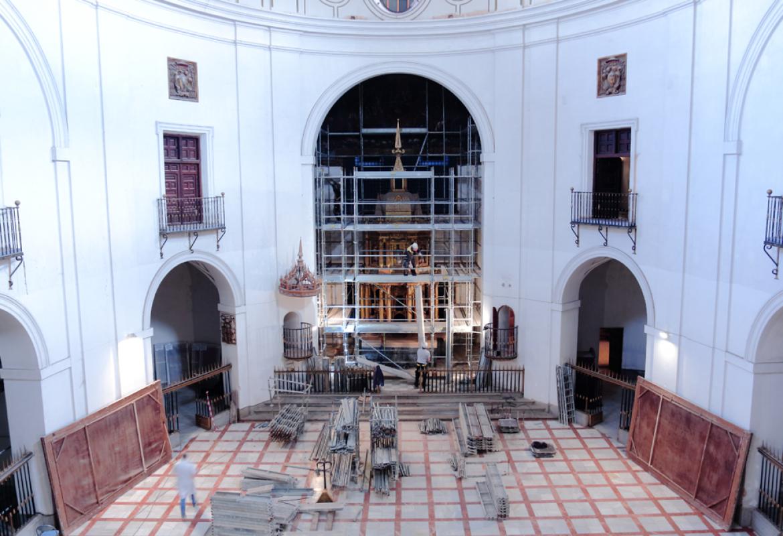 Iglesia del Monasterio Cisterciense de San Bernardo