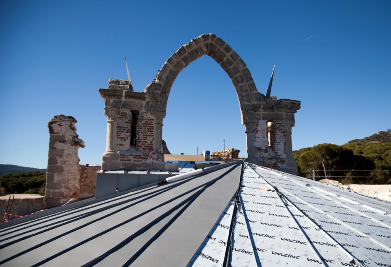 Restauración del ábside y antesacristía del Monasterio de Santa María la Real de Valdeiglesias