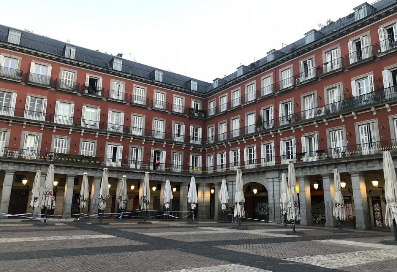Plaza Mayor mayo 2020