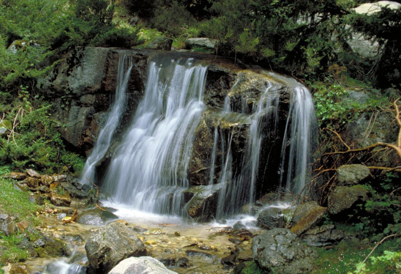 Cascada en el Valle de la Fuenfría