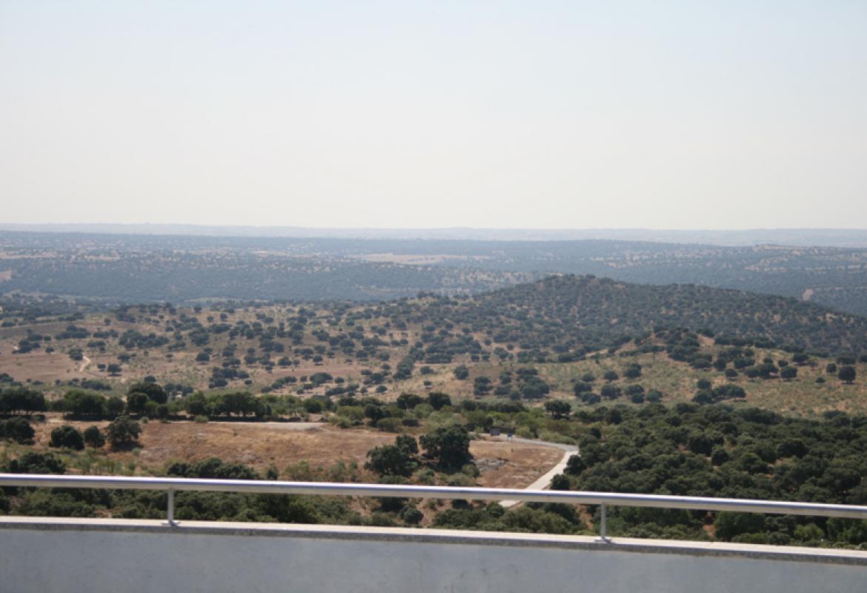 Vistas desde el mirardor del Centro de educación ambiental El Águila