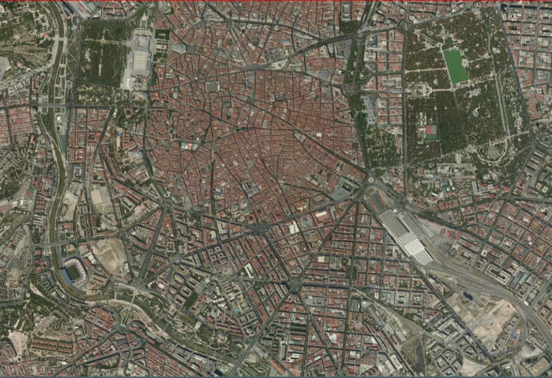 Ortofoto de Madrid