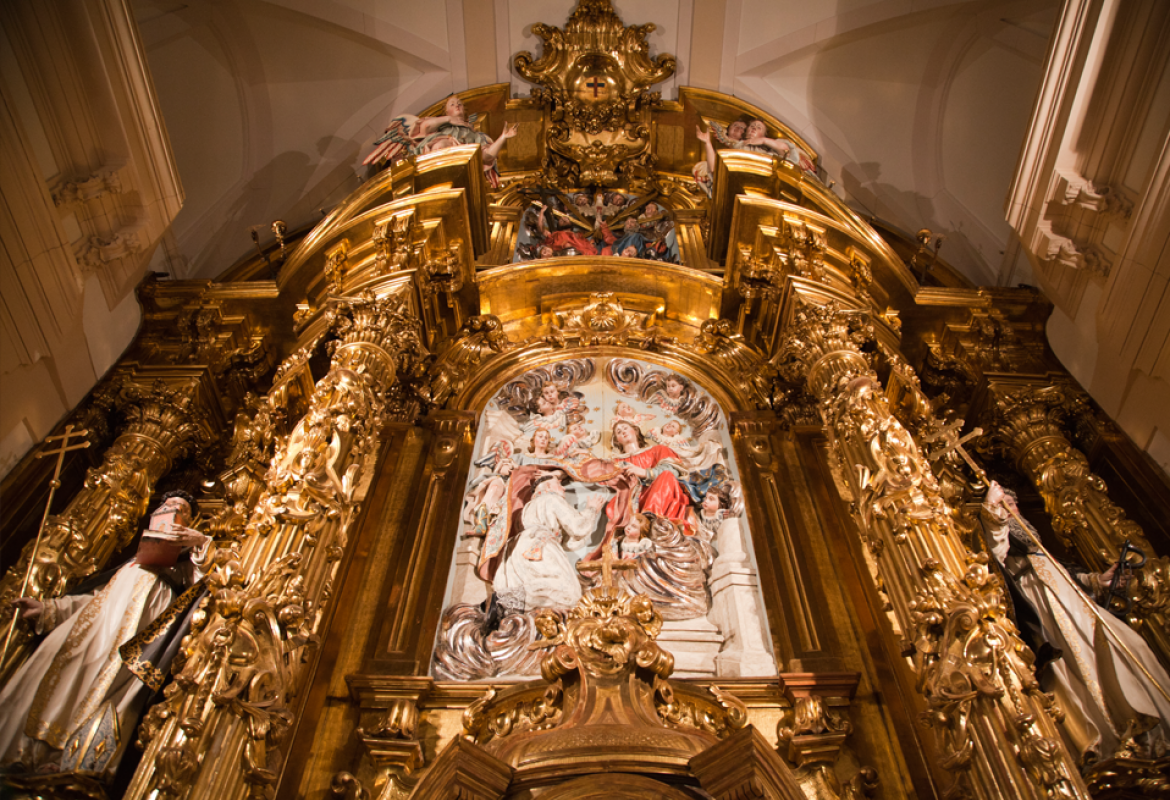Retablo mayor, Trinitarias Descalzas