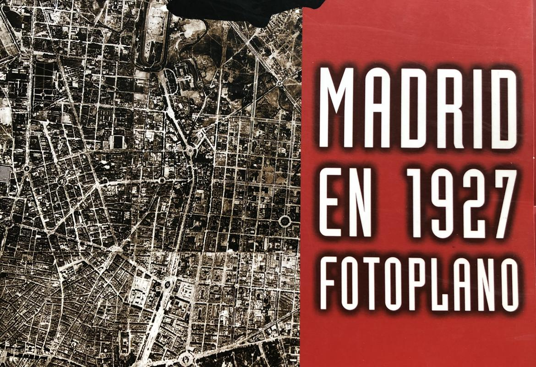 Madrid en 1927 Fotoplano
