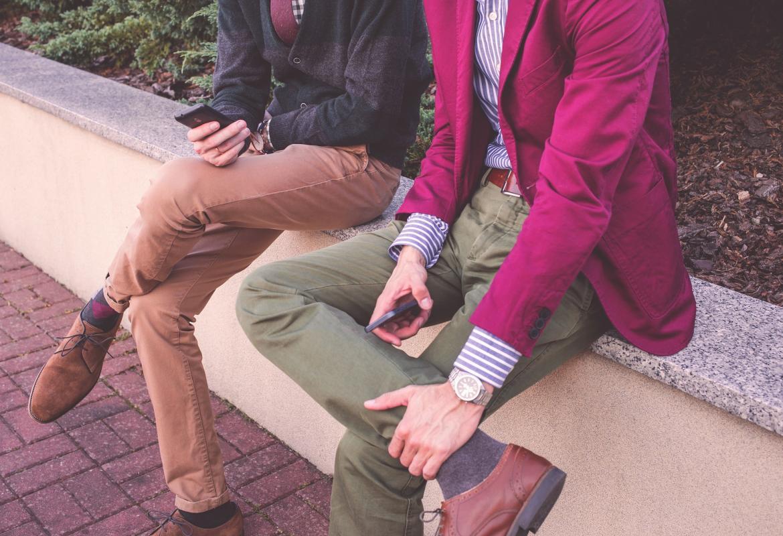 pareja hombres