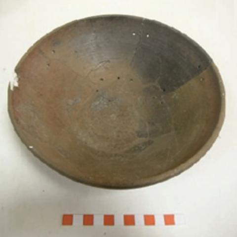 Imagen de cerámica doméstica del yacimiento de la Fuente de la Mora