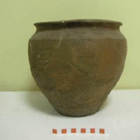Imagen de otra cerámica doméstica del yacimiento de la Fuente de la Mora