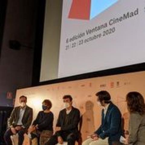 Presentación de una sesión de la Ventana del Cine 2020