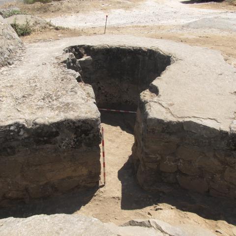 Imagen de pozo de tirador de posición Calvario