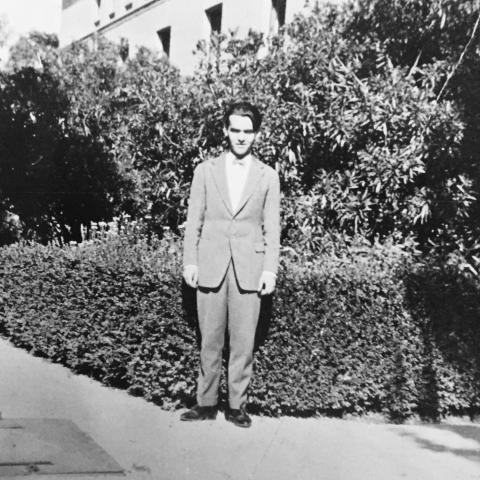 Federico García Lorca en la Residencia de Estudiantes, 1919