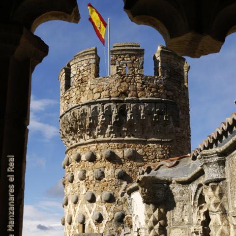Manzanares el Real. Almena castillo
