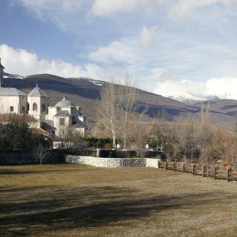 Monasterio de El Paular en Rascafría