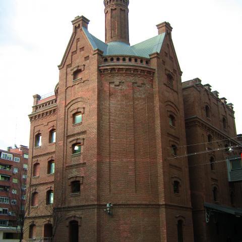 Biblioteca Regional vista exterior