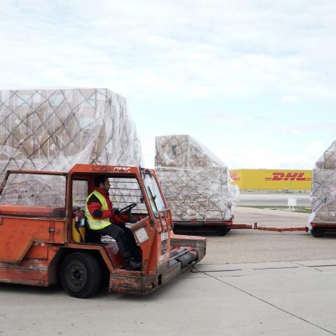 Traslado del cargamento