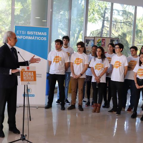 Presentación oficial de la Campaña Cambia su historia con el consejero de Sanidad interniendo