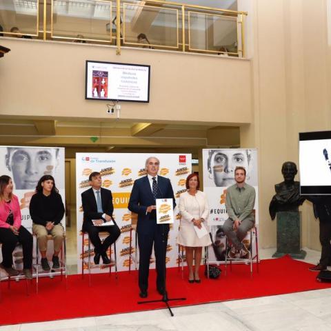 Presentación oficial de la Campaña Únete al equipo médula