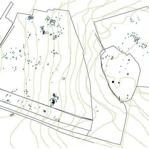 Imagen plano general del yacimiento de La Serna
