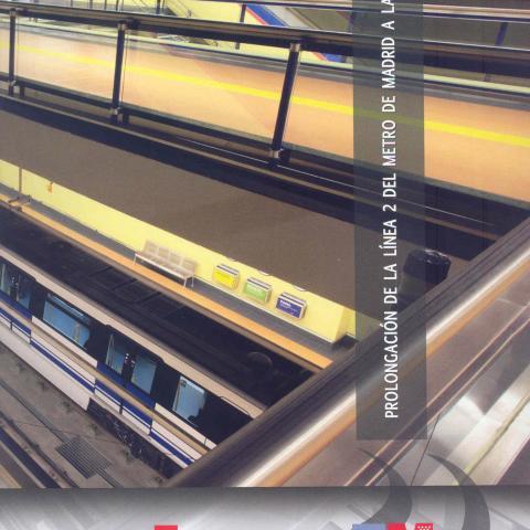 Ref: 06087 Prolongación línea 2 de Metro de Madrid