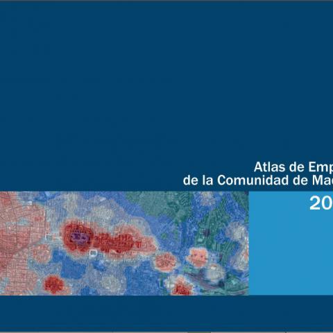 Ref-15759 Atlas de empleo de la Comunidad de Madrid 2017