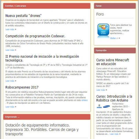 Ref. 16275 Novedad Tecnología, Programación y Robótica (sitio web)